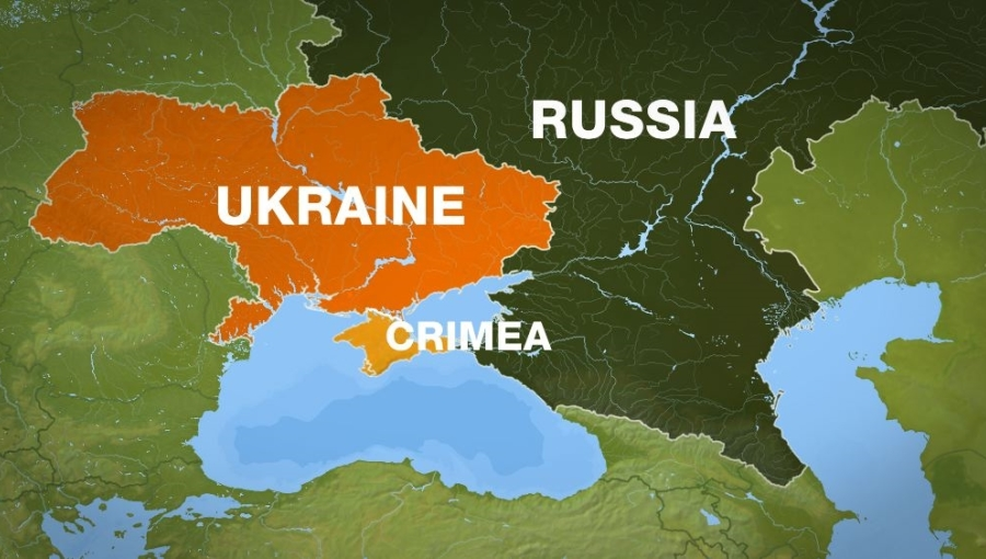 Ukraine And Russia Map.Bne Intellinews Comment Russia And Ukraine More Similar Than